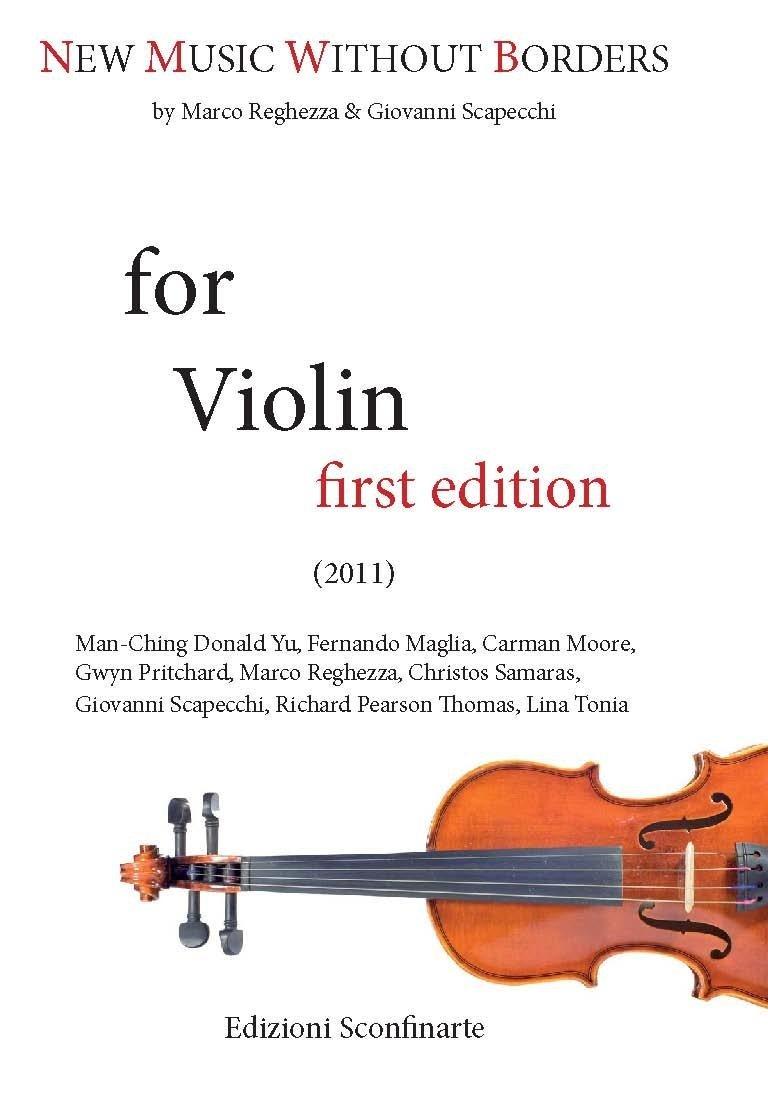 Aquarelle - for solo violin - Lina Tonia